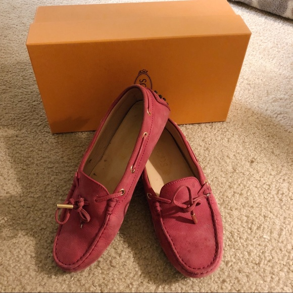 c7acbaf55eaaf Tod's Shoes | Authentic Tods Womens Gommino Driving Pink | Poshmark